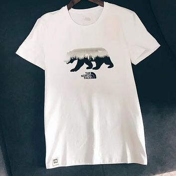 """The North Face "" Summer Women Men Casual Comfortable Print Mercerized Cotton Short Sleeve T-Shirt Pullover Top I-XMCP-YC"