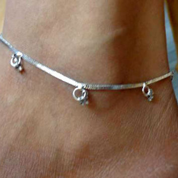 indian anklet,anklet,gypsy foot jewelry,slave anklet,ankle bracelet,belly dance indian jewelry,bells chain anklet,ethnic indian anklet