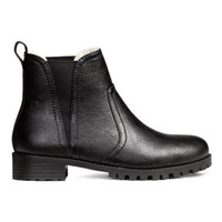 H&M Warm-lined Chelsea Boots $49.99