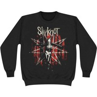 Slipknot Men's  The Grey Chapter Star Sweatshirt Black