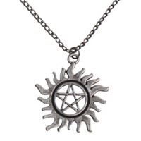 Supernatural Anti-Possession Symbol Necklace