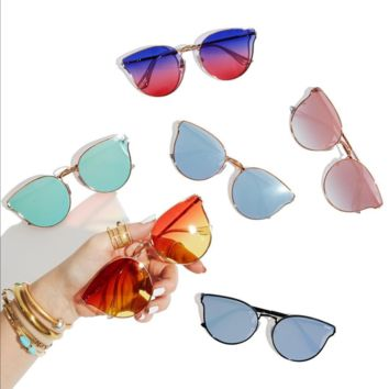 Quay australia - all my love - 60mm retro sunglasses - more colors