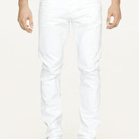 Slim-Fit Optic White Jean