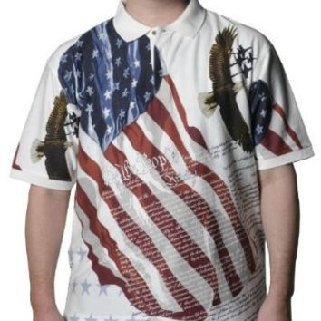 Allover Patriotic Polo Shirt