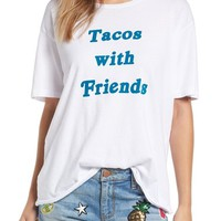 Project Social T 'Tacos with Friends' Oversize Tee | Nordstrom
