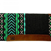 "Saddles Tack Horse Supplies - ChickSaddlery.com Weaver EVA Sport Foam Saddle Pad/Woven Top and Felt Bottom - X Pattern 34"" x 36"""