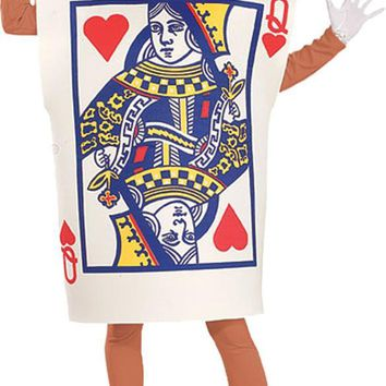 Queen Of Hearts Card Adult Women's Costume for 2017