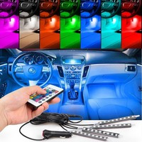 LED Car Interior Lighting Kit