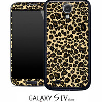 Leopard Cheetah Print Skin for the Samsung Galaxy S4, S3, S2, Galaxy Note 1 or 2