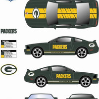 2006 NFL Mustang Gt With Card - Green Bay Packers - Brett Favre
