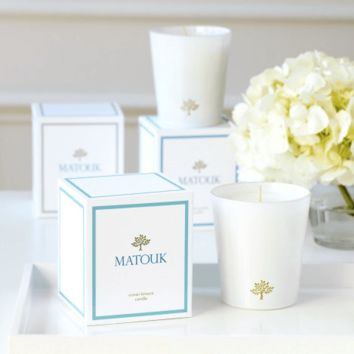 Ocean Breeze Candle by Matouk