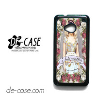 Marina And The Diamonds I Hate Everything For HTC One M7 Case Phone Case Gift Present YO