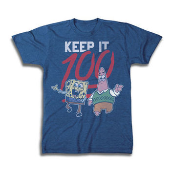 Novelty Spongebob 100 Tee