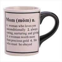 Defining Mom Coffee Mug