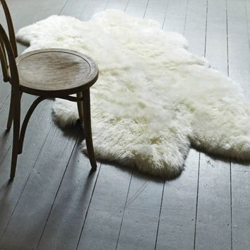 XL Quad Ivory Sheepskin