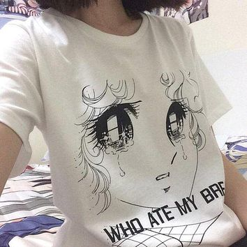 """WHO ATE MY BREAD"" Anime Tee"