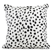 Black and White Spotted PIllow
