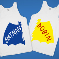 Retro Batman Couples Shirts