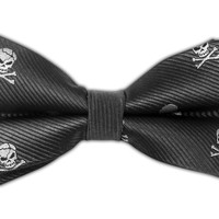 Skull and Crossbones - Charcoal (Bow Ties) from TheTieBar.com - Wear Your Good Tie Everyday