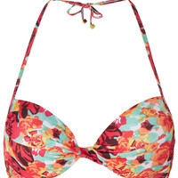 Tangerine Rose Bikini Top - Swimwear - Clothing - Topshop USA