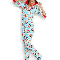 Paul Frank Hooded Footed Pajamas