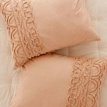 Chloe Tufted Medallion Sham Set | Urban Outfitters