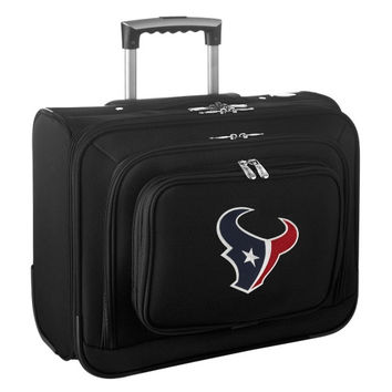 Houston Texans Carry-On Rolling Laptop Bag - Black - http://www.shareasale.com/m-pr.cfm?merchantID=7124&userID=1042934&productID=540327327 / Houston Texans