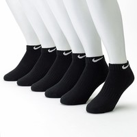 Nike 6-pk. Low-Cut Performance Socks, Size: 8-12