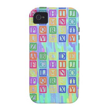 Block Letters Case-Mate iPhone 4S/4
