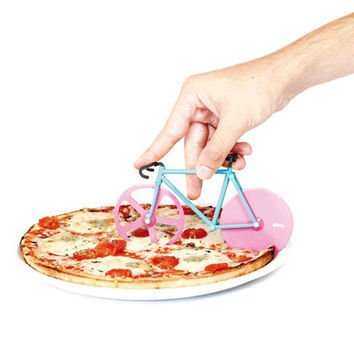 Fixie Bicycle Pizza Cutter | Pizza Slicer Watermelon