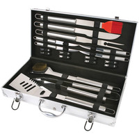 Chefs Basics Select 18-piece Stainless Steel Bbq Set