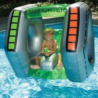 Swimline Starfighter Super Squirter Inflatable Pool Toy:Amazon:Patio, Lawn & Garden