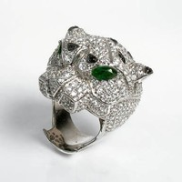 nOir Jewelry - Rings - Amaru the Panther