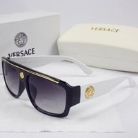 DCCKUH3 Versace Men Women Casual Popular Summer Sun Shades Eyeglasses Glasses Sunglasses