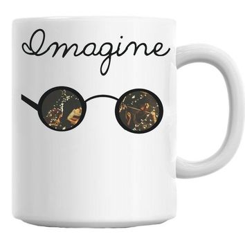 Imagine Sunglasses Mug