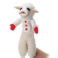 Aurora Plush 17 inches  Lamb Chop (With Sound)