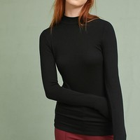 Mock Neck Layering Tee