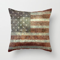 """Old Glory"", The Star-Spangled Banner Throw Pillow by LonestarDesigns2020 - Flags Designs + 