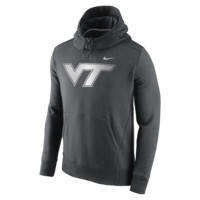Nike College Hybrid Fleece Pullover (Virginia Tech) Men's Hoodie