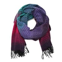 David & Young Ombre Chevron Scarf