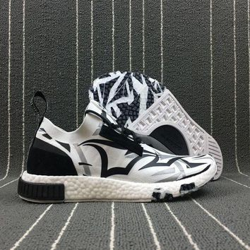 CREYUX5 Newest Juice x Adidas Customise NMD Racer Spring / Summer Boost 2018 Line UP Sport Shoes BB9155