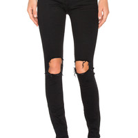 3x1 Distressed Skinny in Black Fade | REVOLVE
