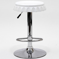 Soda Bottle Bar Stool White