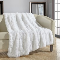 Kostya Shaggy Supersoft Ultra Plush Decorative Throw Blanket