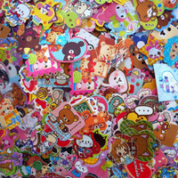 Kawaii 50 Sticker Flakes