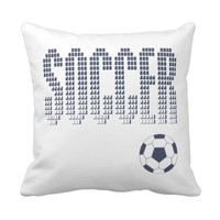 Zazzle Soccer Pillow