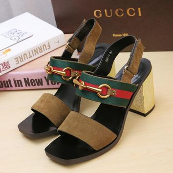 Middle heel sandals in Gucci Classic Series