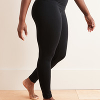 Aerie Chill High Waisted Legging, True Black