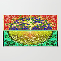 Tree of Life Heart Rug by Tree Of Life Shop