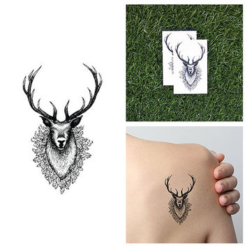 Stag Along - Temporary Tattoo Pack (Set of 2)